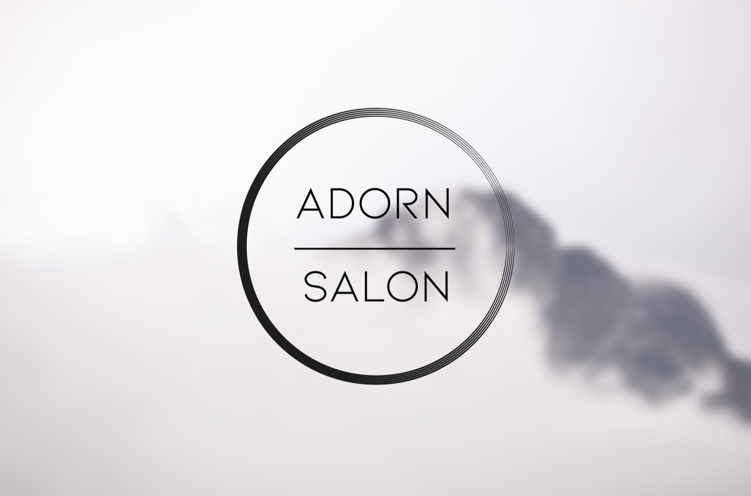 Adorn Salon logo design